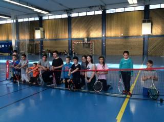 Compétition de tennis à Guer