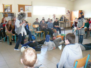 Acting afternoon at St Maurice on Tuesday, 8th April