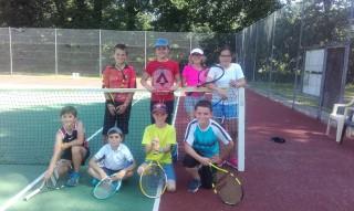 Une belle après-midi de tennis...