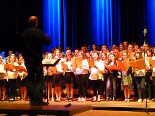 La chorale du collège St Maurice fait son tour de chants
