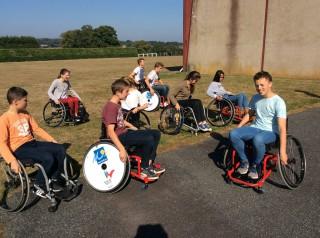 Sensibilisation des 3ème: du handicap au sport