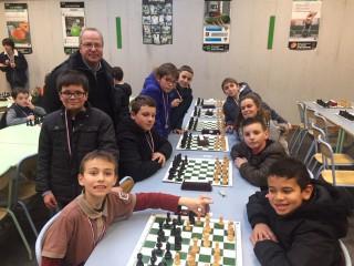 Championnat d'échecs: Une bien belle réussite pour le collège St Maurice!