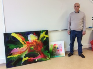 Rencontre avec l'artiste peintre Armand Molina