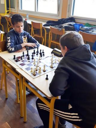 Tournoi d'échecs : un succès!