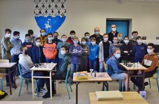 Belle progression pour le club de jeu d'échecs du collège St Maurice !