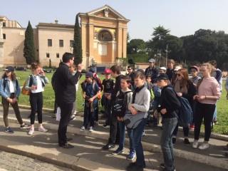 Nos élèves à Rome!