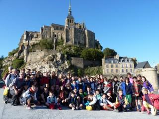 Sortie au Mont St Michel pour les 6èmes