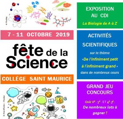 La Fête de la Science au collège !
