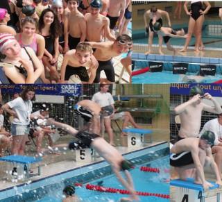 Encore le plein de médailles au championnat régional de natation !